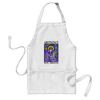 99% effective! adult apron
