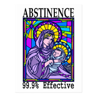 99% effective! postcard