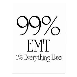 99% EMT POSTCARD