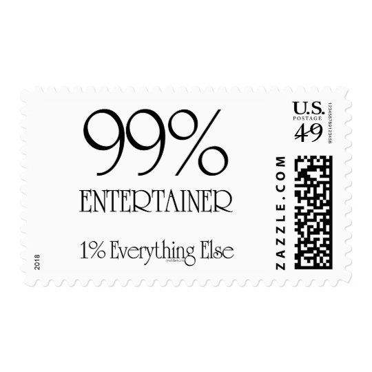 99% Entertainer Postage