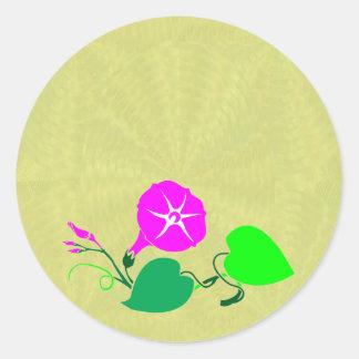 99 ESPACIOS EN BLANCO bien escogidos del color: Pegatina Redonda
