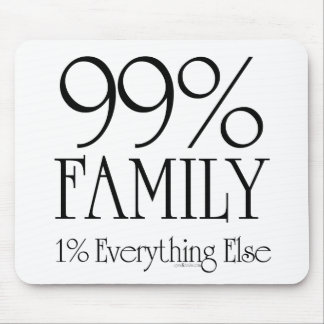 99% Family Mouse Pad
