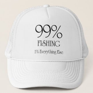 99% Fishing Trucker Hat