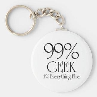 99% Geek Key Chains