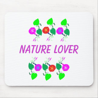 99  GIFTS : Nature Lover Girly Flower Prints Mouse Pad