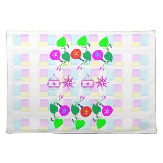 99  GIFTS : Nature Lover Girly Flower Prints Placemat