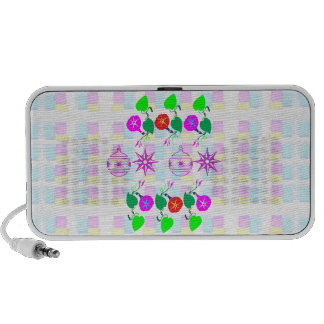 99  GIFTS : Nature Lover Girly Flower Prints Mp3 Speakers