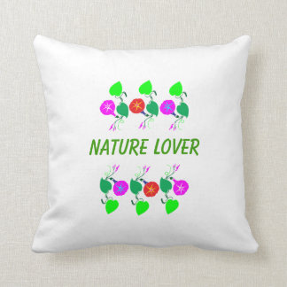 99  GIFTS : Nature Lover Girly Flower Prints Throw Pillow