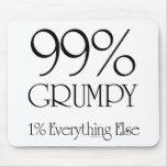 99% Grumpy Mouse Pad
