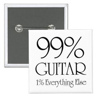 99% Guitar Button