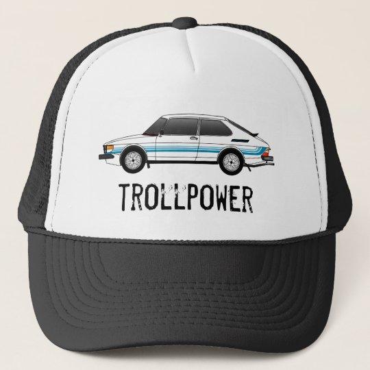 99-hatch_with stripes, trollpower trucker hat