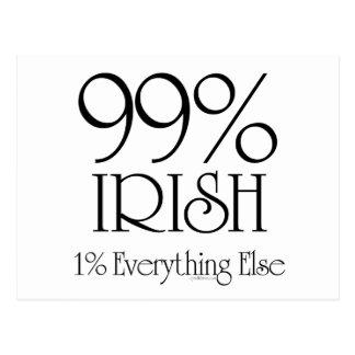 99% Irish Postcard