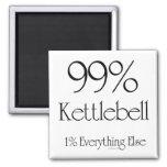 99% Kettlebell Fridge Magnet
