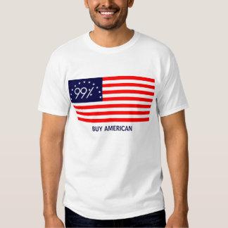 """99 la bandera americana """"americano de la compra"""" camisas"""