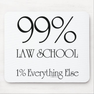 99% Law School Mouse Pad