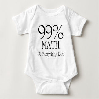 99% Math Tee Shirts