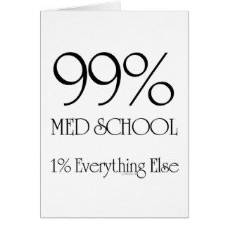 99% Med School Card