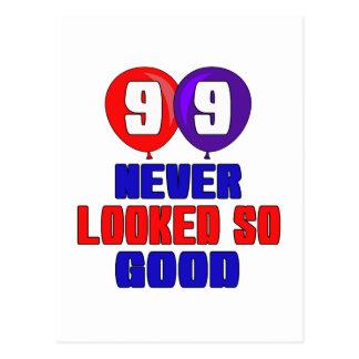 99 nunca parecido tan bueno postal
