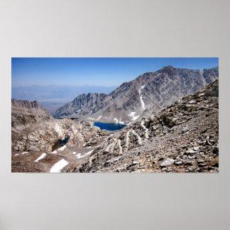 99 o 97 montañas rusas a Mt Whitney 3 Poster