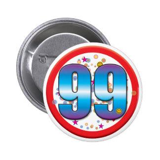 99.o Cumpleaños v2 Pin