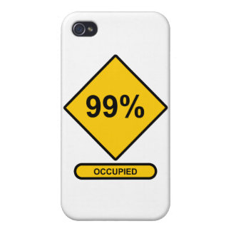 99% Occupied Case For iPhone 4