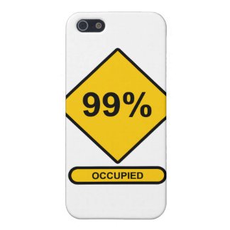 99% Occupied iPhone SE/5/5s Cover