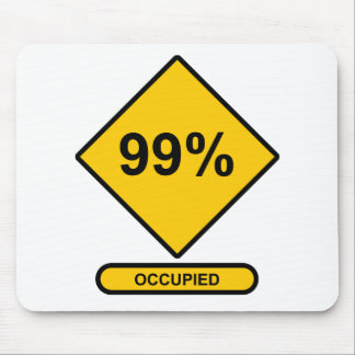 99% Occupied Mouse Pad
