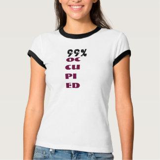 99% OCCUPIED Ringer T-Shirt