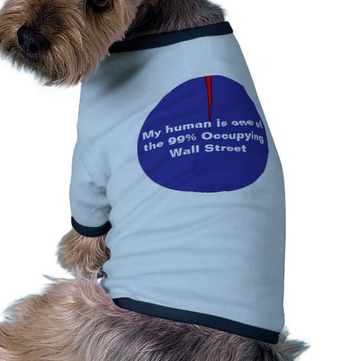 99% Occupy Wall Pet Clothing