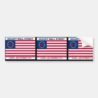 99% Occupy Wall Street Flag The New Revolution Bumper Sticker