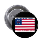 99% Occupy Wall Street Flag The New Revolution Pinback Button