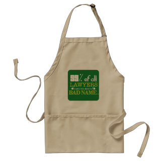 99% of all Lawyers Adult Apron