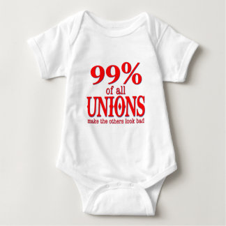 99% Of All Unions Make The Rest Look Bad Baby Bodysuit