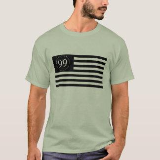 99% Ol Glory block print multi color T-Shirt