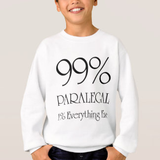 99% Paralegal Sweatshirt