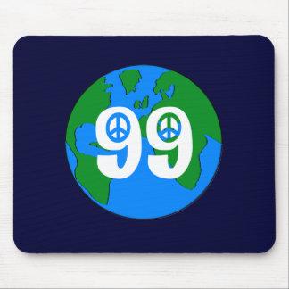 99% Peace sign Earth  mouspad! Mouse Pad