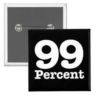 99 Percent 2 Inch Square Button