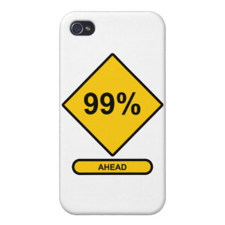 99 Percent Ahead Cover For iPhone 4