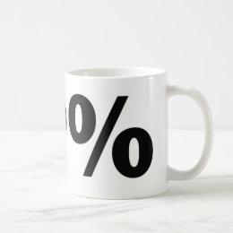 99 Percent Coffee Mug