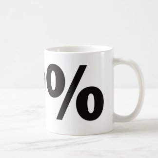 99 Percent Coffee Mug