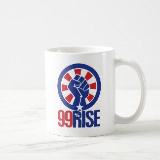 99 percent classic white coffee mug
