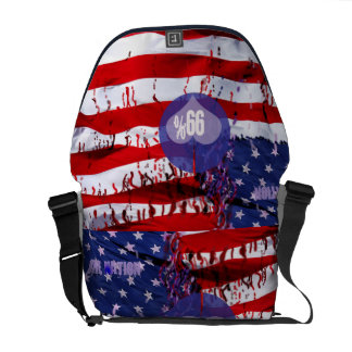 99 Percent OWS Rickshaw Messenger Bag