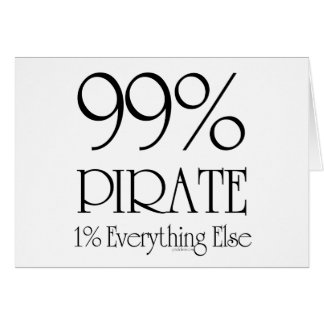 99% Pirate Card
