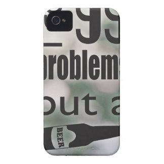 99 problems but a beer ain't one iPhone 4 Case-Mate case