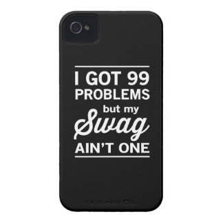 99 Problems but my Swag ain't One iPhone 4 Case-Mate Case