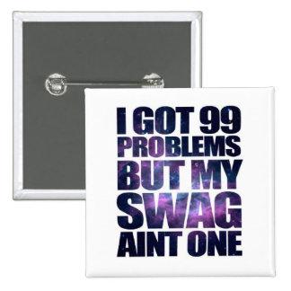 99 problems pinback button