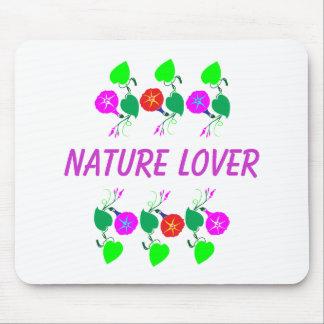 99 REGALOS: Estampados de flores femeninos del ama Mousepads