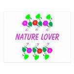 99 REGALOS: Estampados de flores femeninos del ama Tarjeta Postal