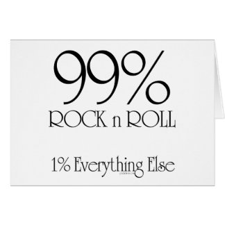 99% Rock n Roll Cards