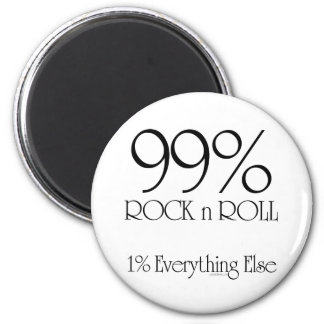 99% Rock n Roll Magnet